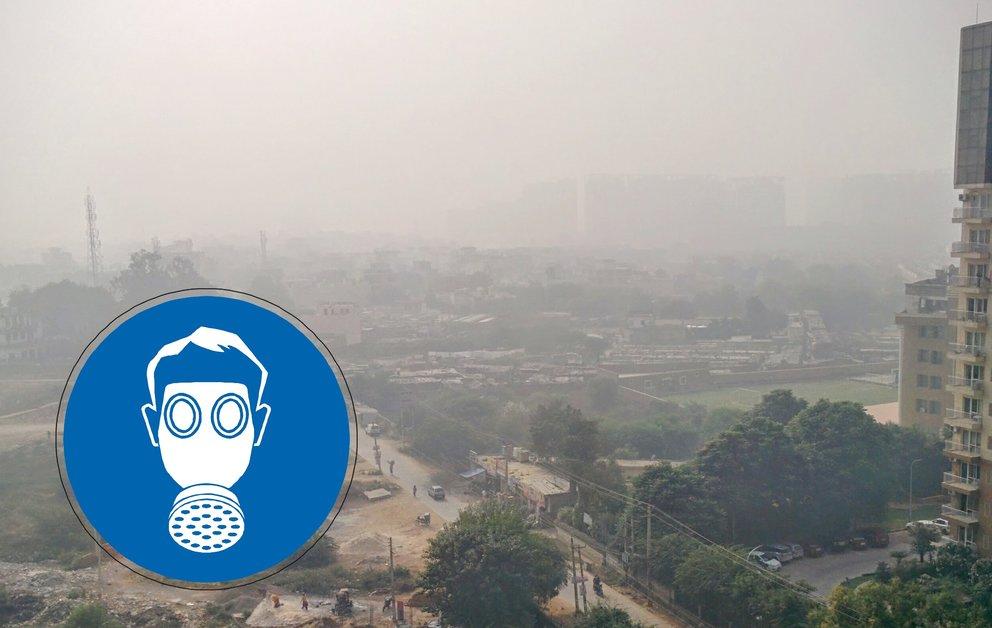 Luftverschmutzung in Neu-Delhi sprengt die Skala