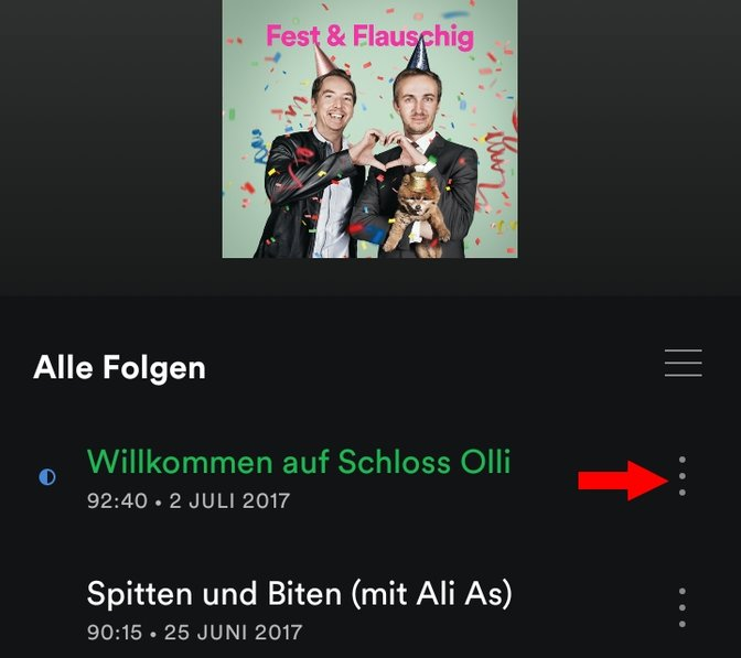 Spotify Fest und Flauschig downloaden