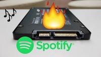 Spotify schreibt eure SSD zu Tode – Update: Problem angeblich behoben