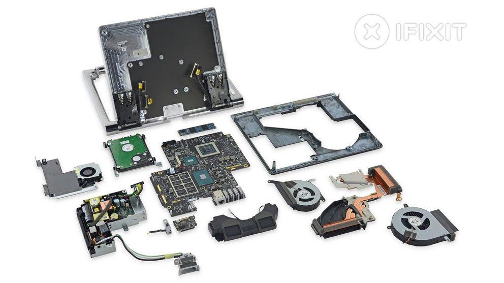 Ein Computer besteht aus Hardware-Komponenten. Bildquelle: ifixit.com