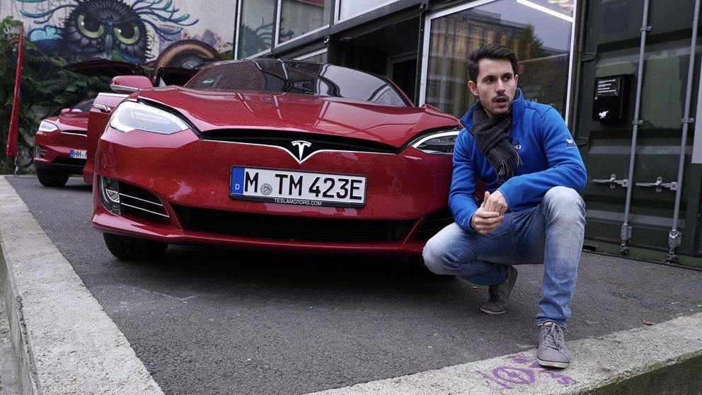 USA: Tesla im Autopilot in Feuerwehrwagen gekracht