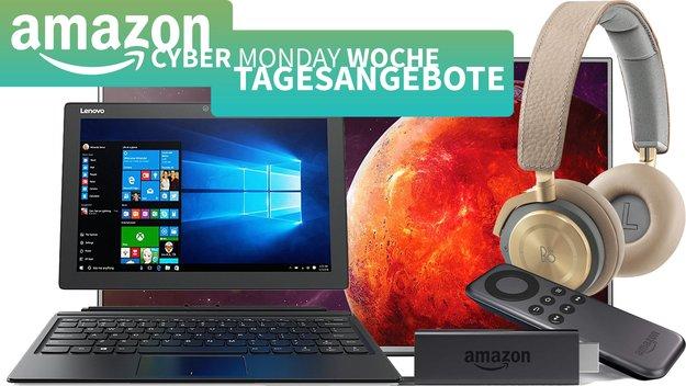 Amazon Cyber Monday – Lenovo Miix 510 für 699 Euro, B&O Play 50 Prozent günstiger u.v.m. stark reduziert, zum Bestpreis!