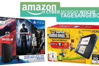 Amazon Cyber Monday Woche – Konsolen-Bundles zum Bestpreis (PS4 + Nintendo)