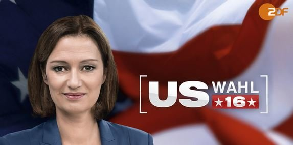 US Wahl 2016 ZDF TV und Stream online