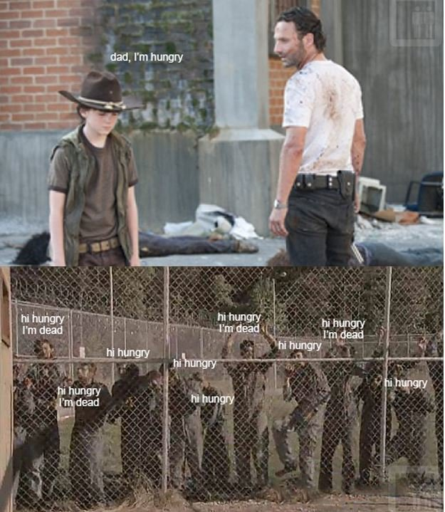 Walking Dead Hungry