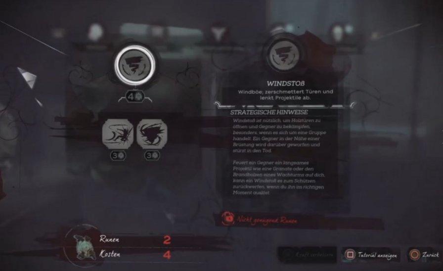 dishonored corvo skills