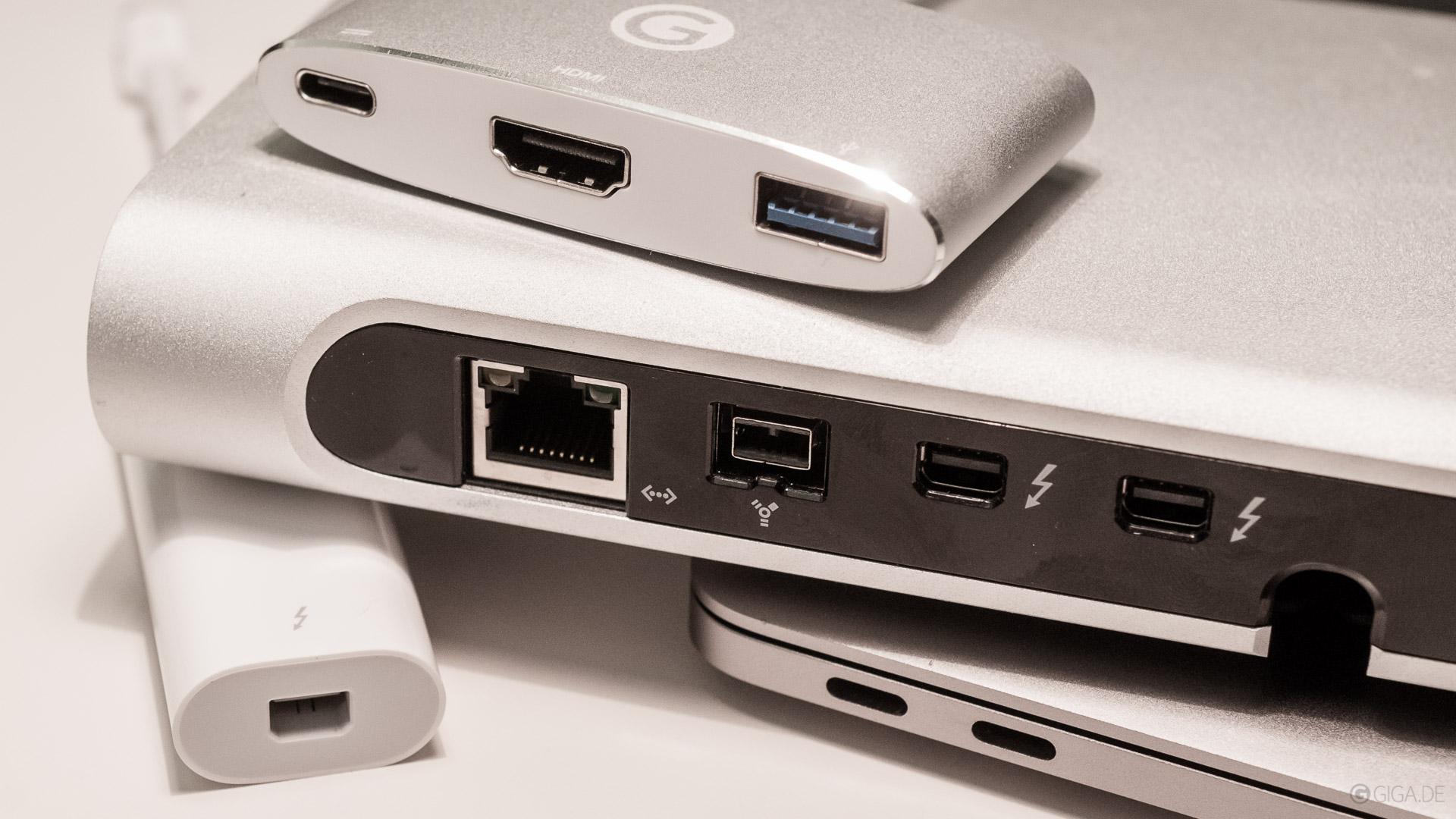 Wichtiges Zubehör und Adapter mit USB C für MacBook Pro 2016 und ...