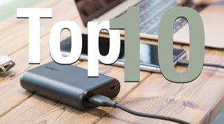 Externe USB-Akkus: Aktuelle Bestseller für iPhone 7, Galaxy S7 und Co. im Überblick