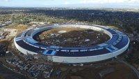 Drohnen-Video vom Apple Campus 2: Arbeiten sind fast abgeschlossen
