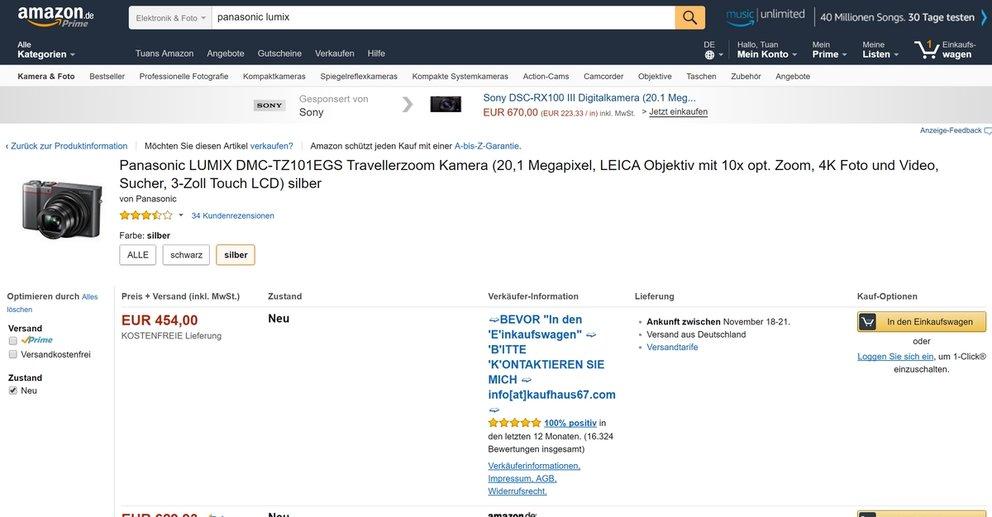 Amazon Fake Verkäufer Melden