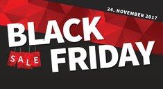 Black Friday: Gelbes Post-it und gesenkte Preise nach Thanksgiving