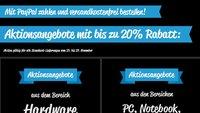 Black Weekend bei ALTERNATE: Bis zu 20 Prozent Rabatt auf Smartphones, TV-Geräte, Notebooks u.v.m.