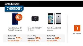 Black Weekend bei Cyberport: Rabatte aufs iPhone 7, MacBooks ab 899 Euro und weitere Deals