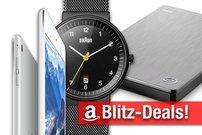 Blitzangebote und CyberSale:<b> iPad mini 4, Festplatten und Braun-Uhren nur heute zum absoluten Bestpreis</b></b>