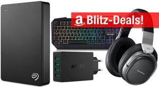 Amazon Blitzangebote: 4 TB Festplatte, Sony Kopfhörer u.v.m. vergünstigt zum Bestpreis