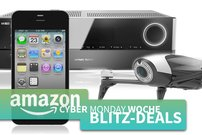 Cyber Monday Blitzangebote:<b> Parrot Drohnen, AirPlay-Receiver, iPhone 4s, Android TV-Box u.v.m. kurze Zeit günstiger</b></b>