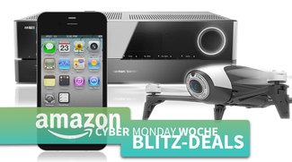 Cyber Monday Blitzangebote: Parrot Drohnen, AirPlay-Receiver, iPhone 4s, Android TV-Box u.v.m. kurze Zeit günstiger