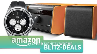Cyber Monday Blitzangebote: LG G Watch Urbane, Huawei Watch Classic, Yamaha Retro-Sound, microSD-Karten u.v.m. günstiger