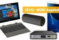ebay WOW! Angebote des Tages: Samsung Galaxy Tab A 10.1 für 198 Euro + 50 Euro Cashback