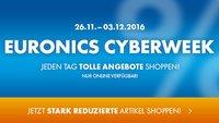 Euronics Cyberweek: HP Notebook mit 2 TB für 444 Euro, Panasonic Soundbar für 139 Euro (Bestpreise!) u.v.m.