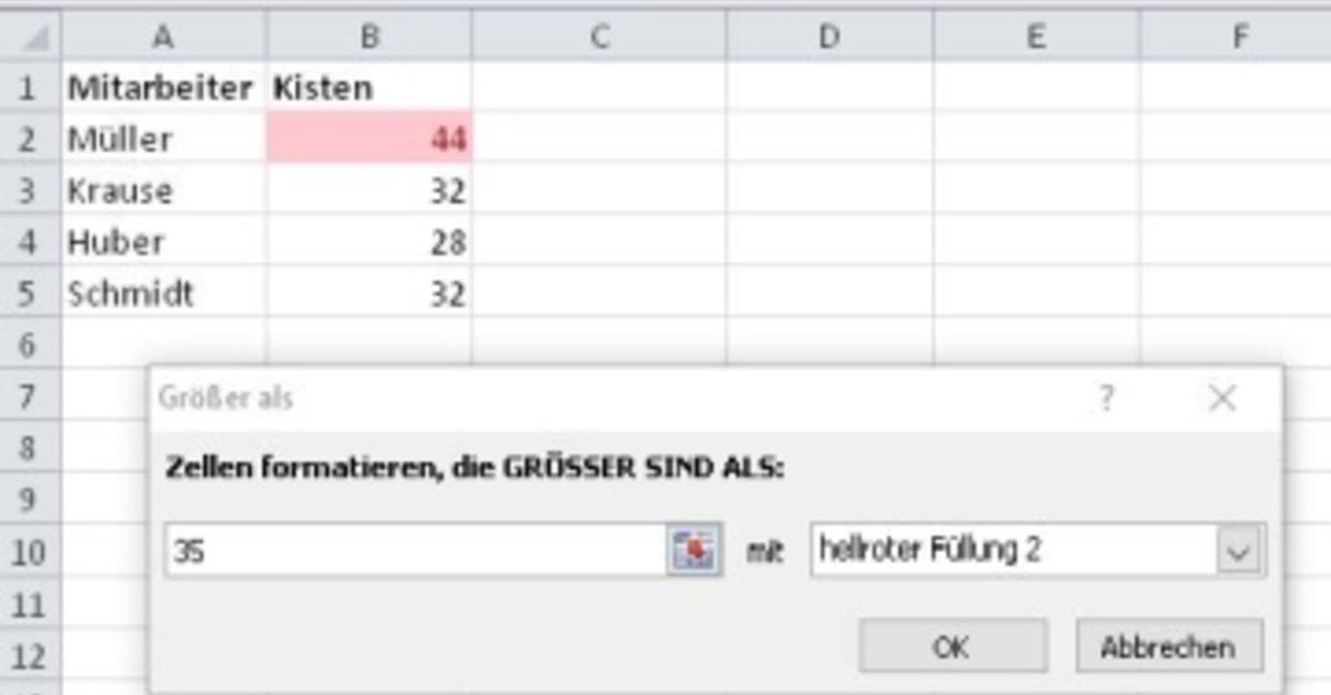 Excel-Zellen vergleichen – Ganz einfach! – GIGA