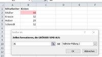 Excel-Zellen vergleichen – Ganz einfach!