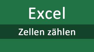 Excel: Zellen zählen – so geht's