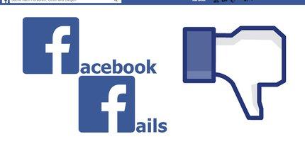 Die 14 größten Facebook-Fails