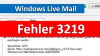 Lösung: Fehler 3219 – So funktioniert Windows Live Mail wieder (0x8DE00005)