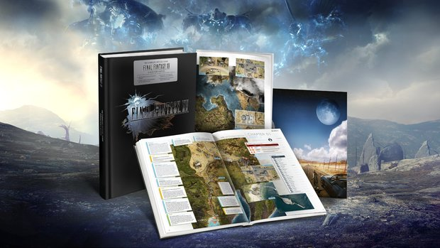 Final Fantasy 15: Offizielles Lösungsbuch erscheint zum Release des Rollenspiels