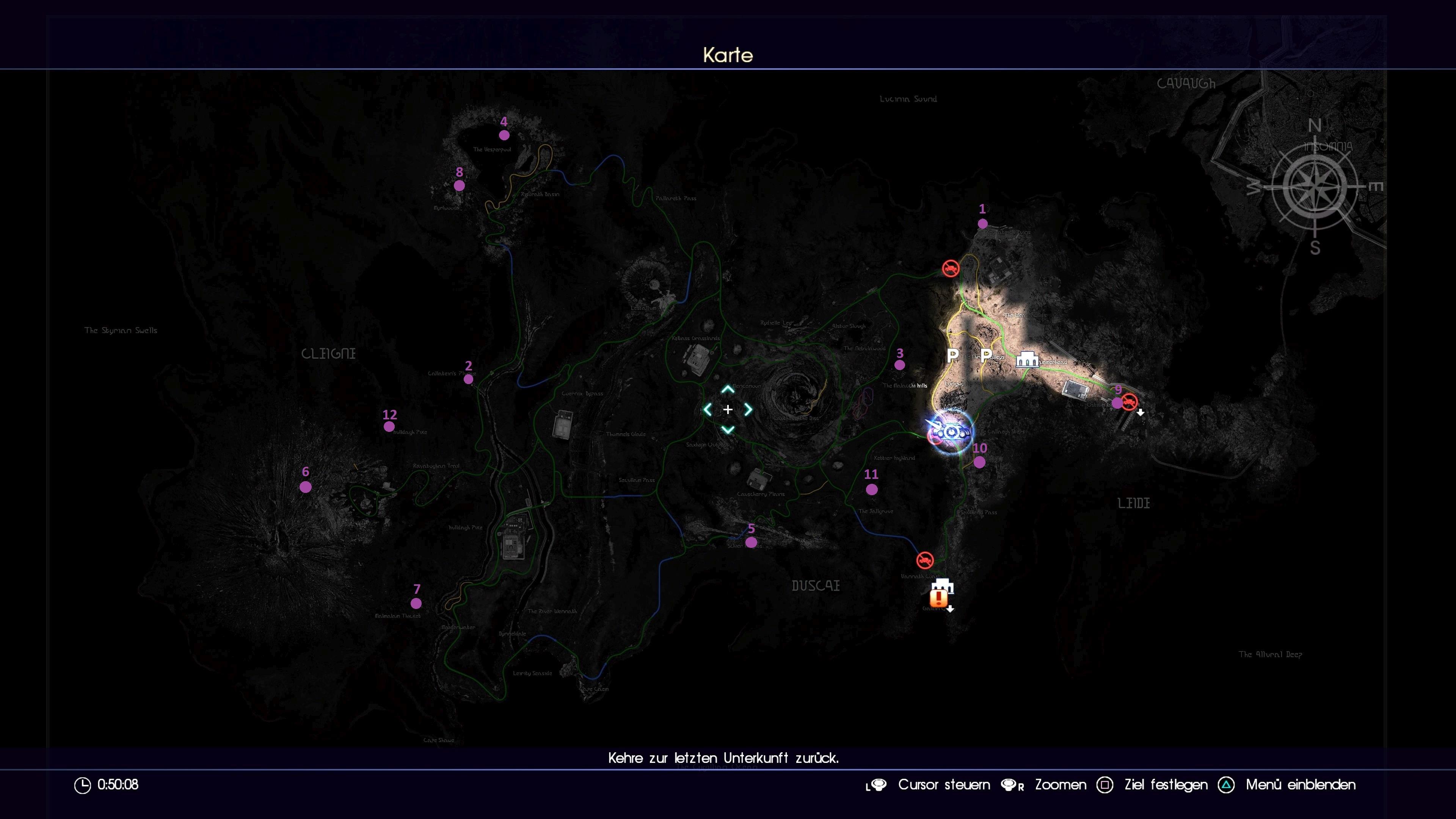 Final Fantasy 15 Königswaffen Karte.Final Fantasy 15 Alle Dungeons Und Wie Ihr Die Verschlossenen Türen
