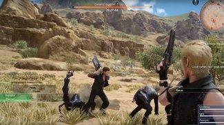 Final Fantasy 15: Kommandos der Gefährten freischalten