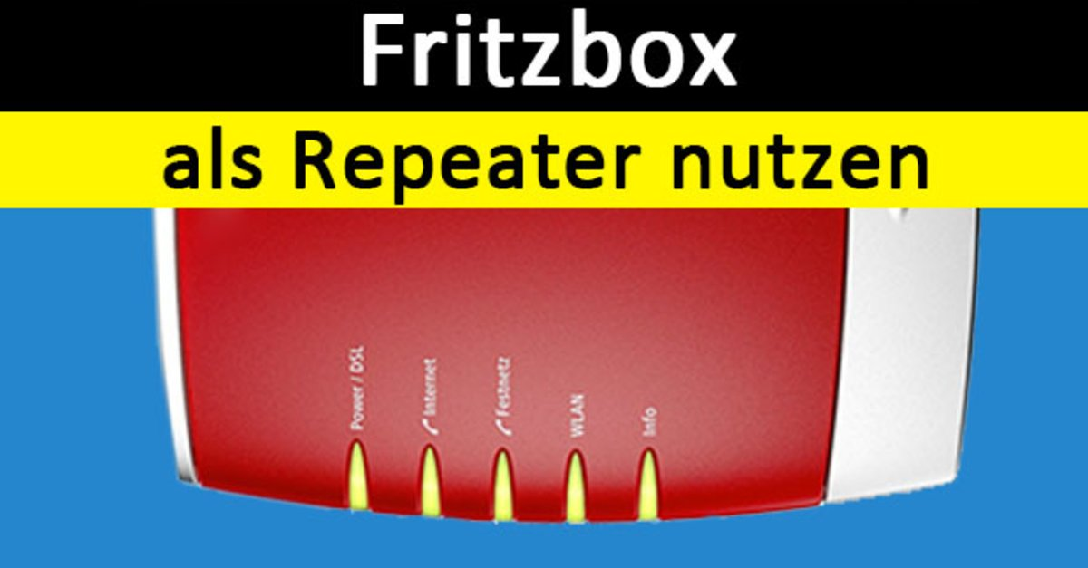 alte fritzbox als repeater nutzen so geht s giga. Black Bedroom Furniture Sets. Home Design Ideas