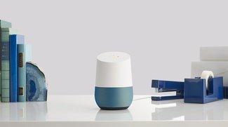 Google Home kommt in diesen Farben nach Hause