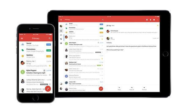 Neuer Look: Gmail für iOS sieht jetzt aus wie eine Android-App