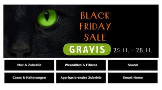 Black Friday bei Gravis: Parrot Drohnen, Garmin Fitnessbänder, Philips Hue und noch viel mehr zu Schnäppchenpreisen