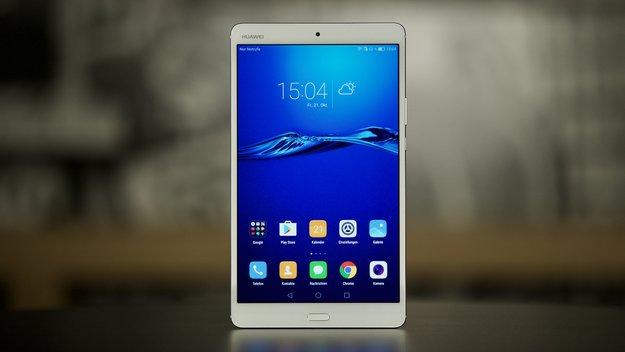 Huawei MediaPad M3 im Test: Metallener Multimedia-Meister