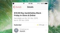 Benachrichtigungen für iCloud-Kalender-Spam verhindern