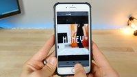 iOS-Fehler: Video lässt iPhone und iPad einfrieren