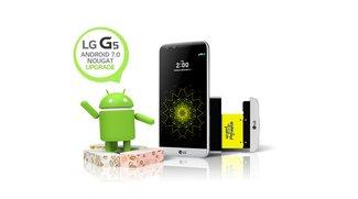 LG G5: OTA-Update auf Android 7.0 steht zur Verfügung
