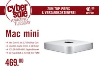 Apple Mac mini für 469 Euro im Cybersale – nur wenige Stück verfügbar!