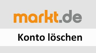 Markt.de: Konto löschen – Anleitung