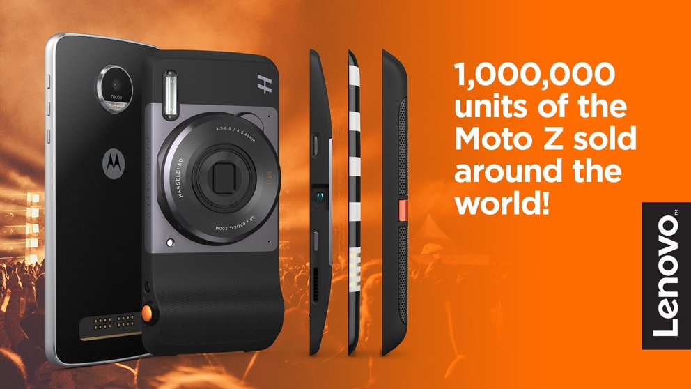 Moto Z kommt gut an: Modulares Smartphone feiert die Million