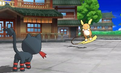 n3ds_pokacmonsonnemond_screenshot_litten_vs_alolan_raichu02