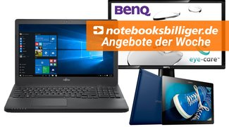 Angebote der Woche bei notebooksbilliger.de: Fujitsu Lifebook mit 16 GB RAM, 512 GB SSD für 609 Euro und mehr