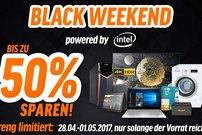 Black Weekend bei notebooksbilliger.de: Bis zu 50 % Rabatt auf Laptops, Smartphones, Tablets und mehr