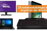 Angebote der Woche bei notebooksbilliger.de: HP Business Notebook, Lioncast LK15 u.v.m. stark reduziert, zum Bestpreis!