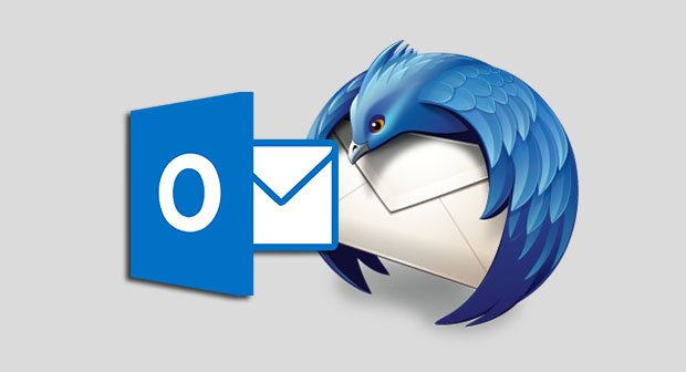 outlook thunderbird logo