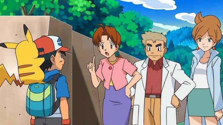 Ash fickt seine Mutter pokemon