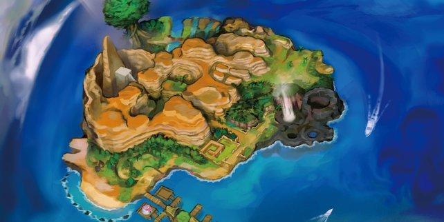 Poni ist eine Insel, die noch kaum von Menschen bebaut wurde.